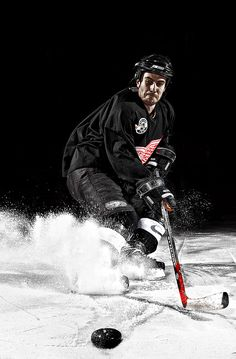 BTSV of Hockey Portrait Photography