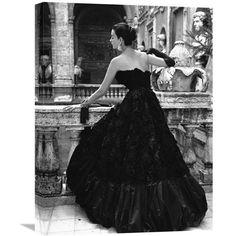 Evening dress 18 x 24