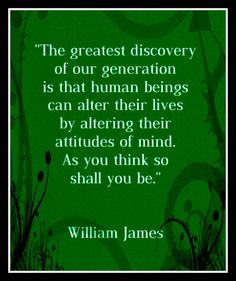Fridge Magnet William James quote Law of Attraction by Vividiom, $3.50