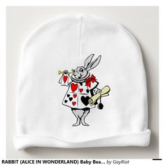 RABBIT (ALICE IN WONDERLAND) Baby Beanie