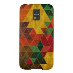 Triangle Pattern Cases For Galaxy S5