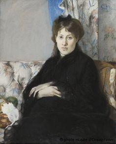 Berthe Morisot Portrait de Madame Edma Pontillian, nee Edma Morisot, sueur de l'artiste