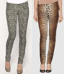 leopard trousers: A 80s MUST HAVE
