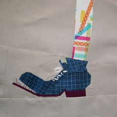 Pippi's shoe by quirky granola girl, via Flickr