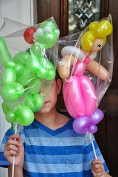 Figuras de globos