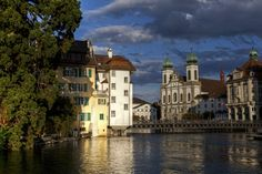 """Summer Day in Luzern"" by Béla Török on 500px - Luzern, Switzerland"