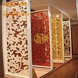 MDF hollow carved plate entrance shoe boutiques partition wall partition wall plaid Continental porch off