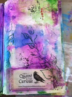 multi-media art journaling by jenn burke
