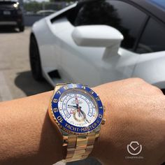 Sunday FundayRolex Yacht II blue handsemail us for more info