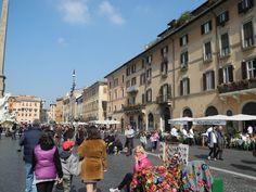 Piazza Novana Rome, Italy #travel