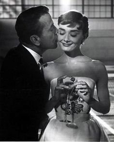 Humphrey Bogart and Audrey Hepburn love the remake with Harrison Ford also