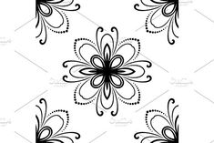 Oriental vector pattern with damask, arabesque and floral elements. Damask Patterns, Victorian Design, Arabesque, Vector Pattern, Abstract Backgrounds, Oriental, Floral, Flowers, Royal Icing Flowers