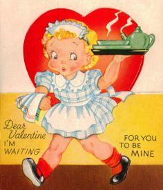 love vintage valentines