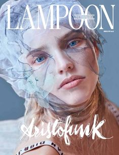 Sasha Luss Stars in The Fashionable Lampoon #08 Cover Story