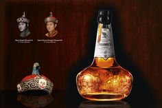 Prophecy — A whiskey fit for a king. In celebration of his father's 60th birthday, His Majesty, the 5th King of Bhutan, wanted to create something equally unique and exquisite. This gift needed to symbolize the 34 years his father rules as the 4th king, bringing wealth and happiness to the country. #Celebrative #Crown