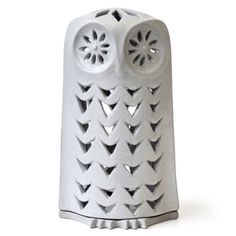 Jonathan Adler Utopia Owl Candleholder in All Pottery Decorative Accessories, Home Accessories, Lady Slipper Orchid, Candles And Candleholders, Owl Always Love You, Jonathan Adler, Womens Slippers, Stoneware, Candle Holders