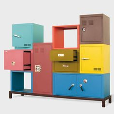 Stackable Locker Cabinets / Storage