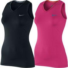 Nike Ladies Pro Sleeveless V-Neck II Top