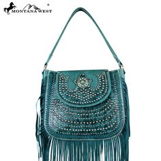 MW197-8291 Montana West Fringe Collection Handbag - New Arrival