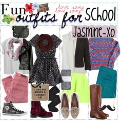 Fun Outfits for School ! - Polyvore