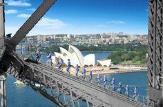 Climb the iconic Sydney Harbour Bridge. Tick the world-class experience of the Sydney BridgeClimb off your bucket list. One Bridge. Book Now! Sydney Harbour Bridge, Harbor Bridge, Great Barrier Reef, Sydney Australia, Australia Travel, Victoria Australia, Work And Travel Australien, Sydney Opera, Hamilton