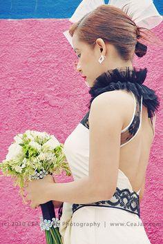 Black and White Wedding Dress | Wedding Book