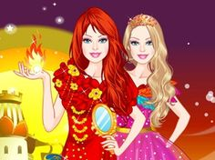 New Game has been posted http://www.barbie-games.com/barbie-fire-princess-dress-up/ Barbie is playing a beautiful fire princess and she is very excited about this role as it suits her perfectly. Be the cute doll's fashion stylist and dress her up in gorgeous fire princess outfits. Red, yellow, orange and pink are the colors defining her look. Check out those elegant and sophisticated red dresses and accessorize each of them. Have a fabulous time playing this hot new dress up game!