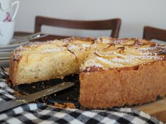 apfel-marzipankuchen-rezept-mandeln Banana Bread, Baking, Desserts, Food, Food Food, Recipies, Tailgate Desserts, Deserts, Bakken