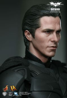 Simply Amazing Christian Bale likeness! Hot Toys : The Dark Knight Rises - Batman/ Bruce Wayne 1/6th scale Collectible Figure