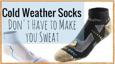 With Merino Wool, you won't have to double or triple layer your socks in the winter anymore!