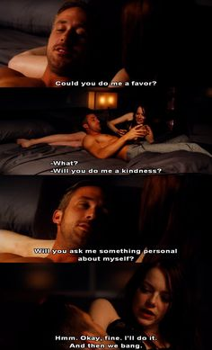 Ryan Gosling and Emma Stone in Crazy Stupid Love