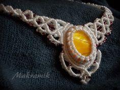 #necklace, #micro-macrame, #macrame, #mikro-makrama, #makrama