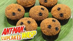 How To Make Ant-Man Cupcakes