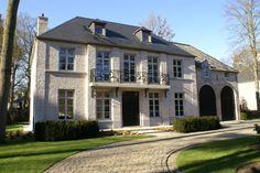 Mansions and Estates Georgian Architecture, Classical Architecture, Architecture Details, Dutch House, My House, Home Building Design, House Design, Different House Styles, French Exterior