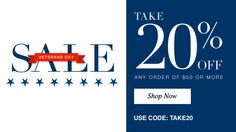 VETERAN'S DAY SALE 20% OFF ORDERS OF $50 OR MORE USING PROMO CODE TAKE20 AT www.youravon.com/bkeller