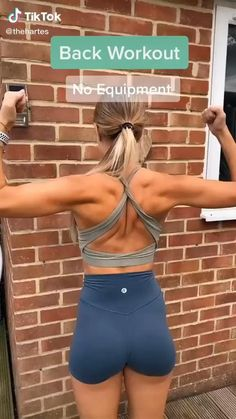 Fitness Workouts, Gym Workout Videos, Gym Workout For Beginners, Fitness Goals, Fitness Motivation, Nike Workout, Sport Motivation, At Home Workouts, Back Workout Women