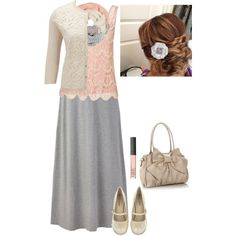 "#Modest doesn't mean frumpy. #DressingWIthDignity www.ColleenHammond.com  ""Smile!"" by iamanarnia on Polyvore"