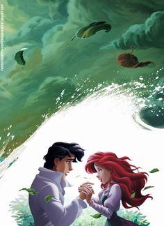Princesas Disney: Preciosas Imágenes de La Sirenita