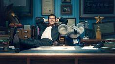 Matthew McConaughey As Buster Moon Sing 2016 Movie Wallpaper