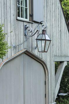 gothic door & lantern