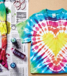 How To Make A Tie Dye Shirt With Tulip