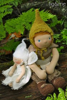 Peter Pan and Tinkerbell by Fig & Me