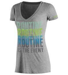 Reebok Women's CrossFit Routine Is Enemy Tee Short Sleeve Tops | Official Reebok Store