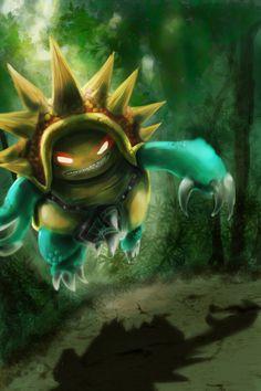 League of Legends - Rammus in the Jungle