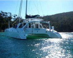 Great boat looks awesome | Schionning Waterline 1320 Catamaran |  #BoatingCruising #Catamarans #CatamaransforSale #Sailing