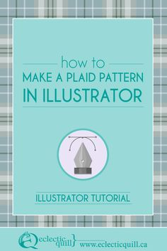 In this Adobe Illustrator tutorial I'm going to show you just how quick and easy it is to make a plaid pattern.