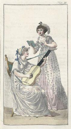 Journal für Fabrik, Manufaktur, Handlung und Mode. Bd. 23.  Leipzig, Chr. A. Hempel, Juli - Dezember 1802.