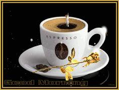 Coffee Gif, Coffee Love, Coffee Cups, Good Morning Good Night, Cooking Gadgets, Espresso, Tableware, Madagascar, Juice