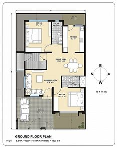 Home Inspiration: Artistic West Facing House Plan Villas And Floor Plans Palm Meadows In Kompally Hyderabad from West Facing House Plan 2bhk House Plan, Model House Plan, House Layout Plans, Duplex House Plans, Family House Plans, Dream House Plans, Small House Plans, Metal Building House Plans, Modern House Floor Plans