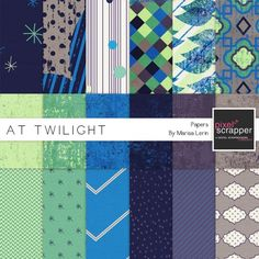 At Twilight Papers Kit*
